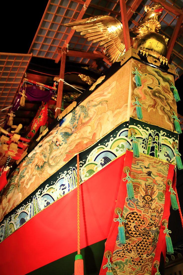 祇園祭 宵山 船鉾 京都 夏 日本三大祭