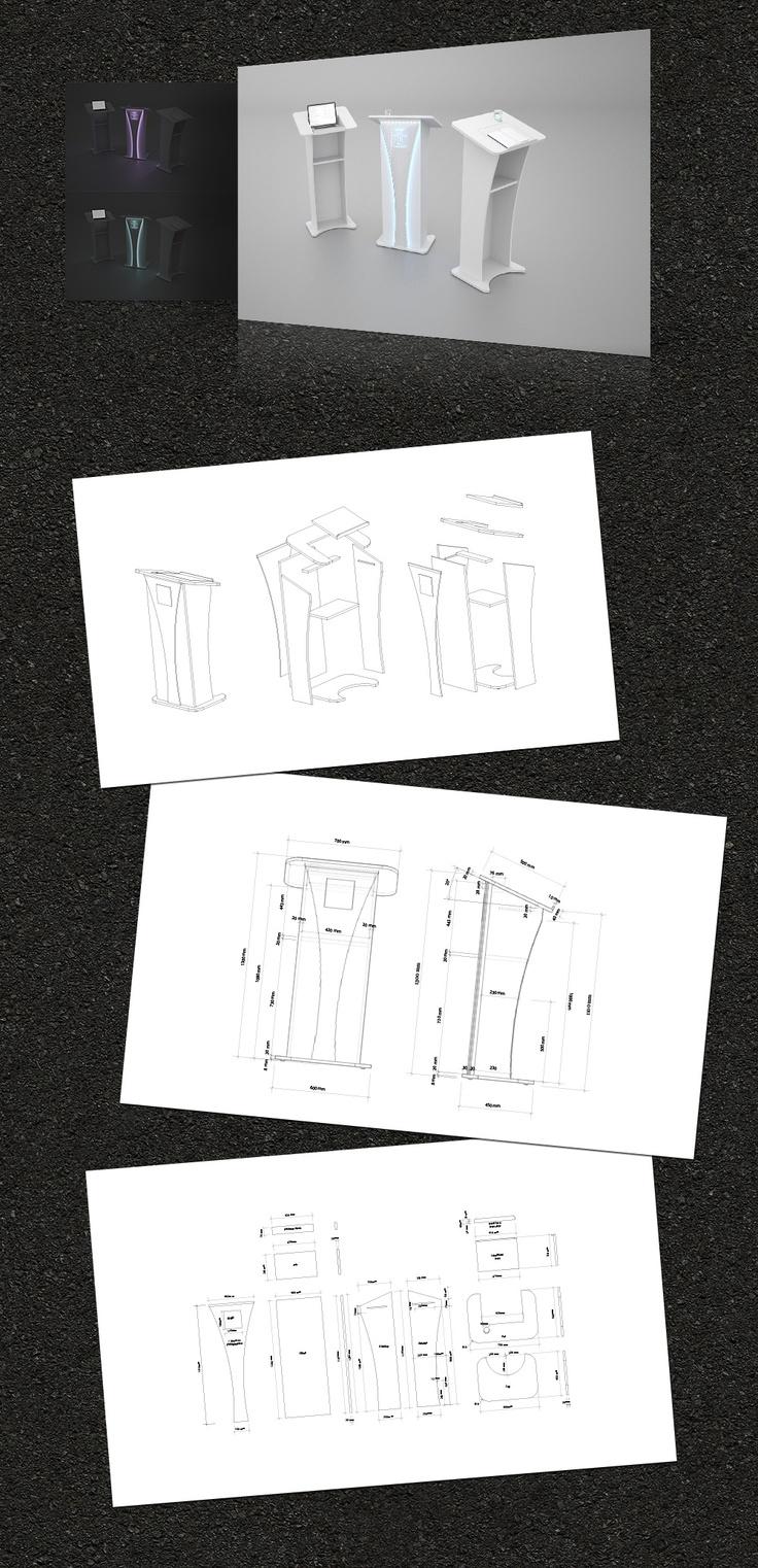 Podium Concept for Church