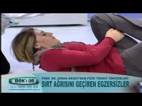 Sırt ağrısını geçiren egzersizler - YouTube