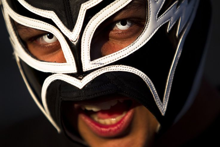 """Mike """"El Sonico"""" Jacinto - Lucha Libre Mexican-style wrestling in the streets of South Park   Picture This   The Seattle Times"""