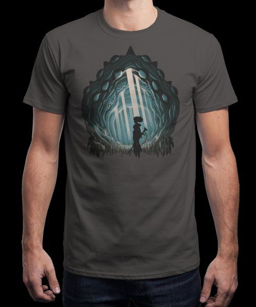 """Nausicaa's Decay"" is today's £8/€10/$12 tee for 24 hours only on www.Qwertee.com Pin this for a chance to win a FREE TEE this weekend. Follow us on pinterest.com/qwertee for a second! Thanks:)"