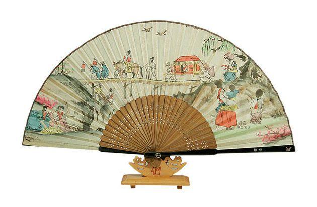 Traditional Folding Fan - Wedding
