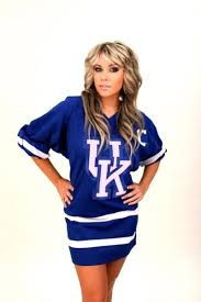 "Soap actress and Lexington native Farah Fath is a huge UK fan. She has appeared on the UK Hockey Team poster and has been the ""Y"" at a few basketball games."