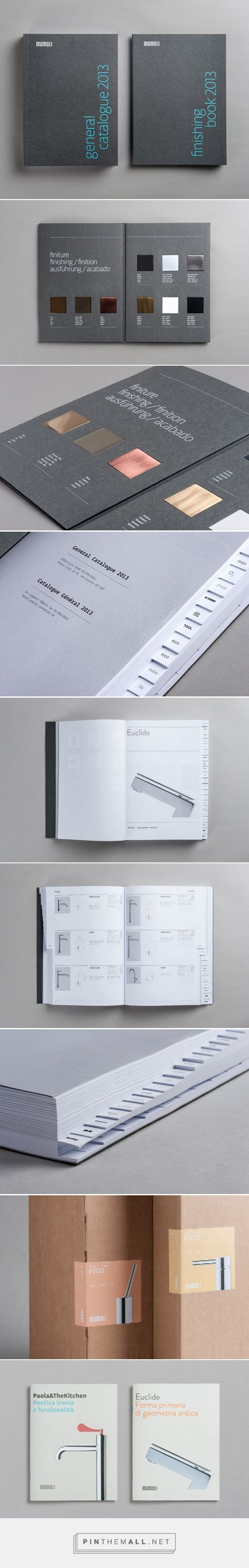 Portfolio - Project - mamoli catalogue and finishing book | LS graphic design - created via https://pinthemall.net