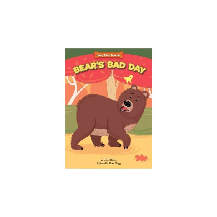 Bear's Bad Day ( Funny Bone Readers: Dealing With Bullies) (Hardcover)