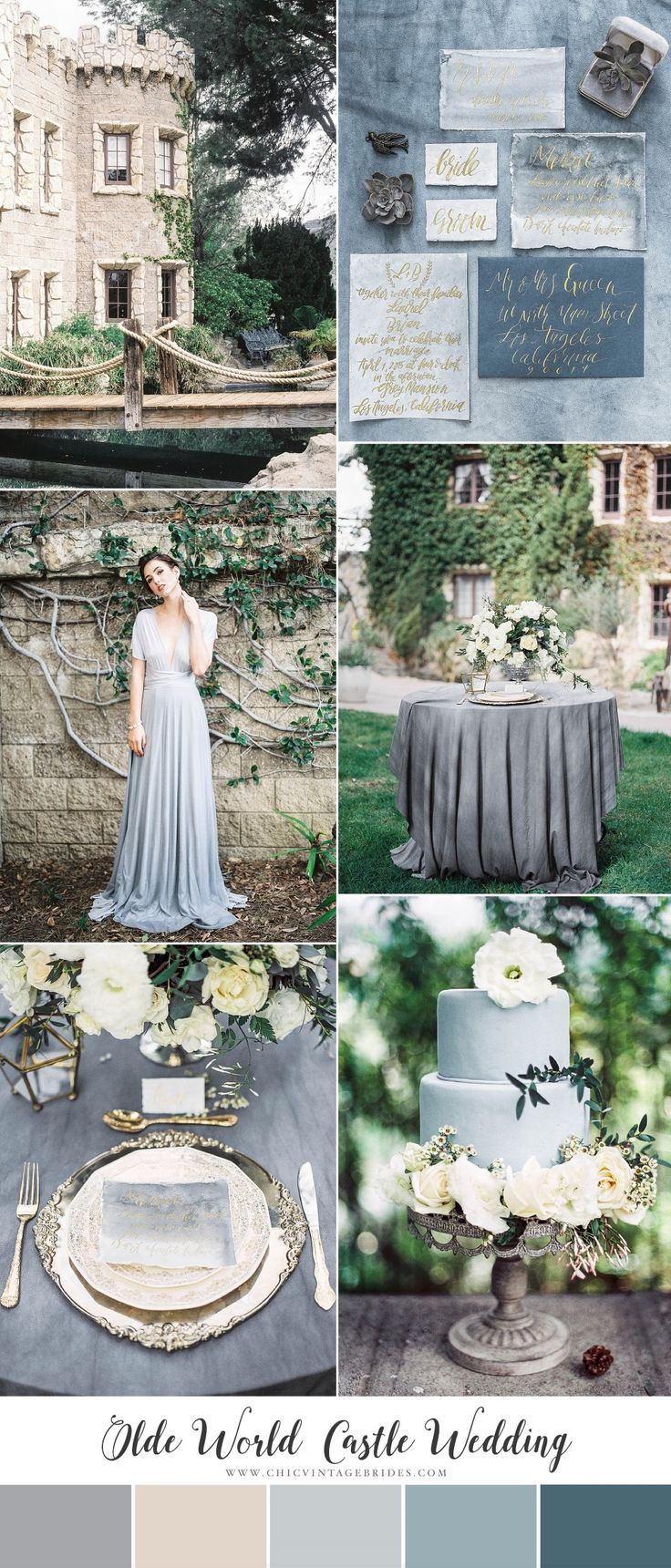Old World Castle Wedding Inspiration