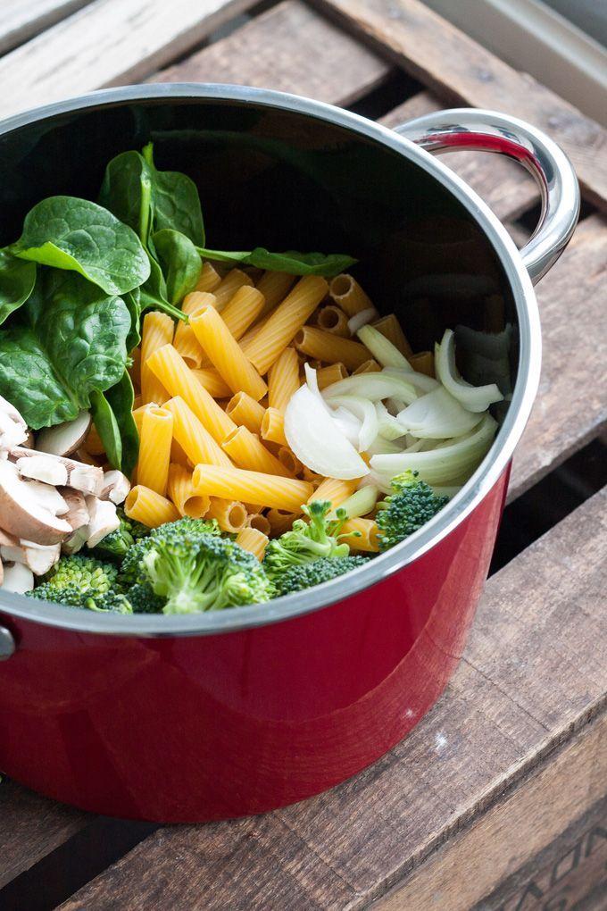 One Pot Pasta Primavera6