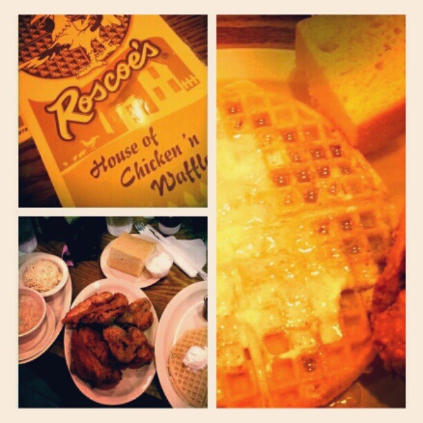 I love Roscoes House of Chicken and Waffles :)