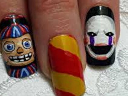 Five nights at freddys two nails