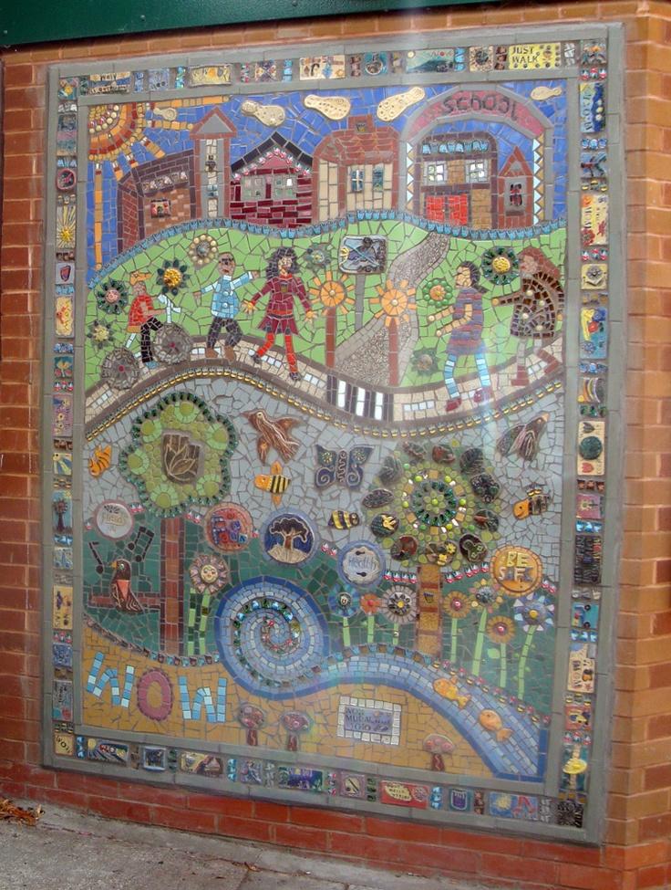 mosaics at Crealde School of Art | ... Primary School Mosaic « Art4Space | A Community Arts Organisation
