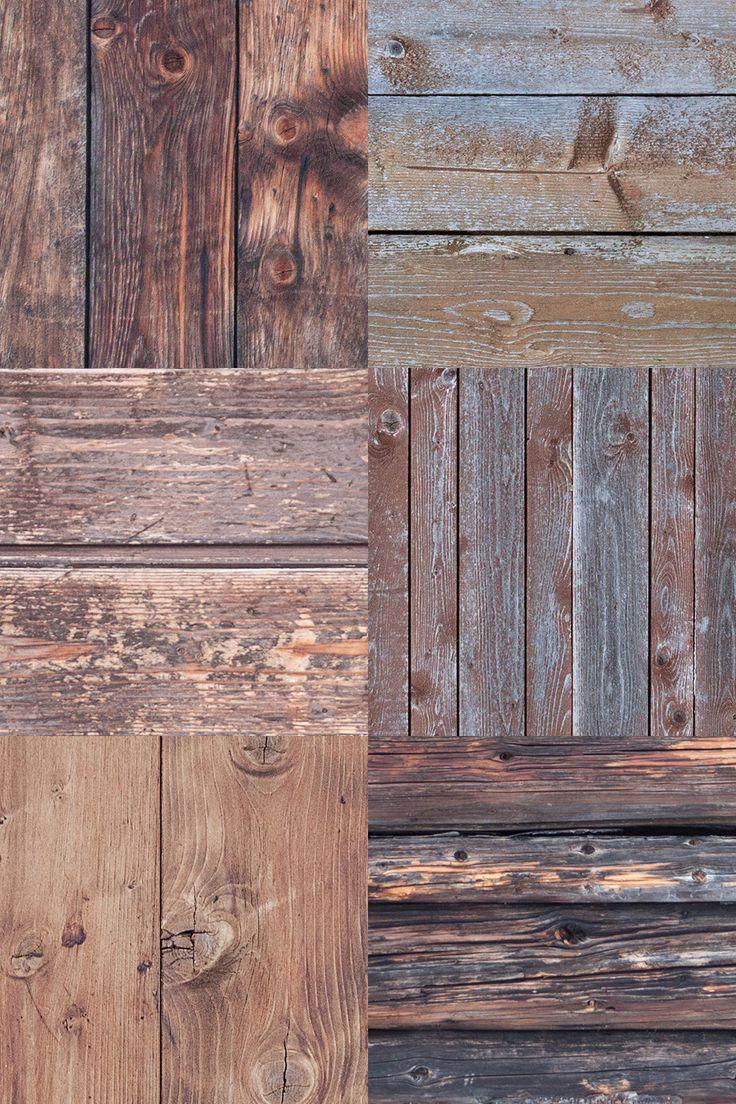 6 Vintage Wood Textures Vol.4 | GraphicBurger