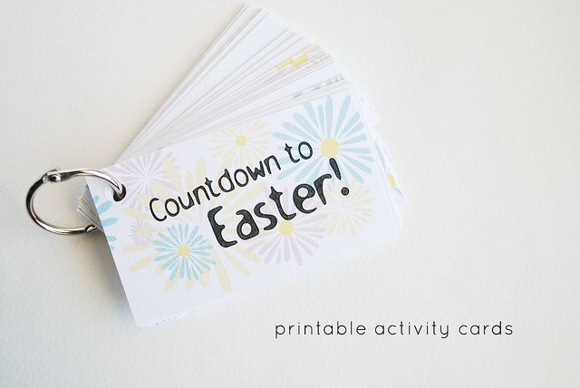 This would be a good family activity, either write down good things you did each day, or sayings etc for 40 days of lent
