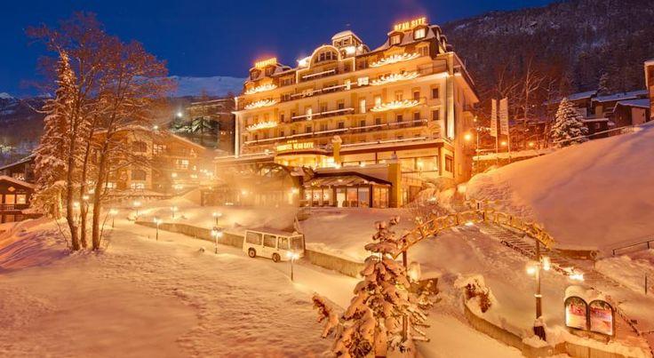泊ってみたいホテル・HOTEL スイス>ツェルマット>標高の高いツェルマットの中心部にありながら、静かなエリアに位置したホテル>パークホテル ボー シット(Parkhotel Beau Site)