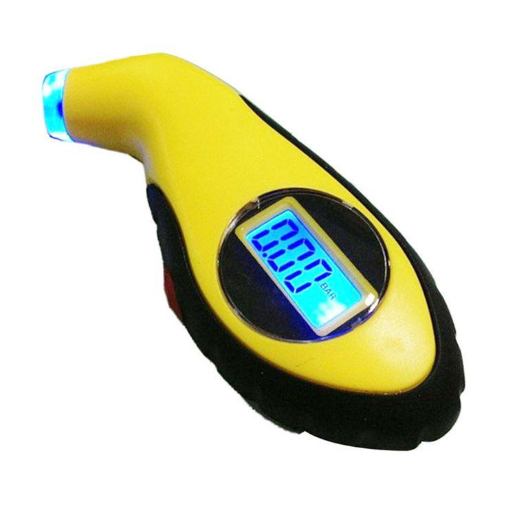 Best Handy LCD Digital Auto Car Motorcycle Air Pressure Tire Tyre Gauge Tester Tool Jun16 #shoes, #jewelry, #women, #men, #hats