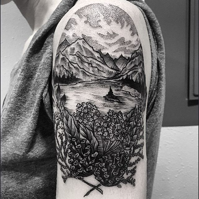 @damasktattoo #tattoo #tattoos #tattooed #tattooer #tattooist #tattooartist…
