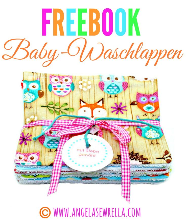 Freebook Tutorial Baby-Waschlappen zum Herunterladen Download