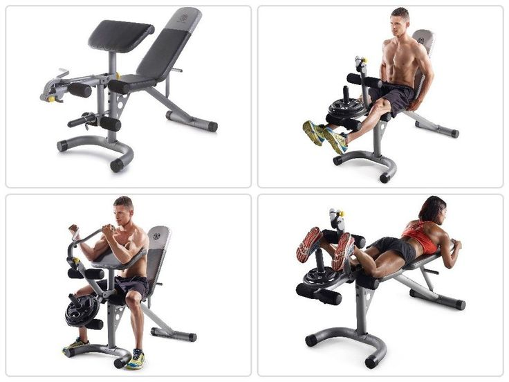 #Home #Gym Olympic #Weight #Bench Adjustable #Weights Lifting #Workout #Training Set
