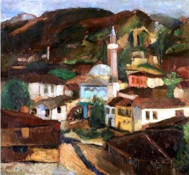 Hale Asaf, Bursa, 57 x 62, KÜYB.