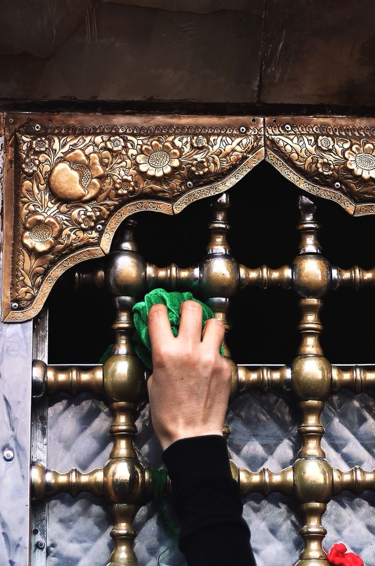 one of the shrines where the arms of abbas ibn ali are