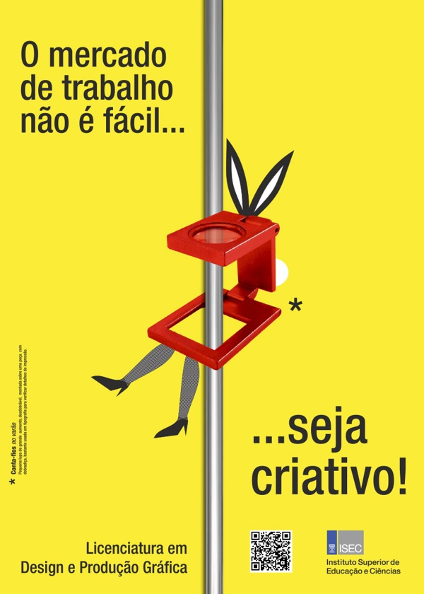 Campaign ISEC by Rui Sousa, via Behance