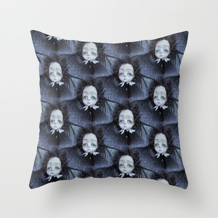 Vincent the Vampire boy. Throw Pillow