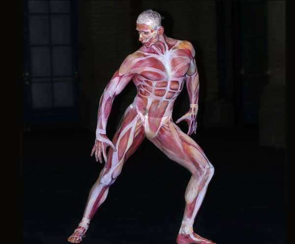 Commercial Body Painting - John Vargas' Work (GALLERY)