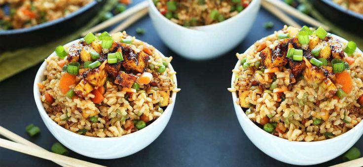 Τηγανητό ρύζι με χοιρινό - leftovers #fried_rice #cook #recipes #mastercook