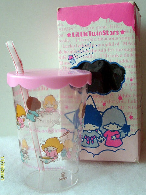 【1976】Plastic Cup ★Little Twin Stars★