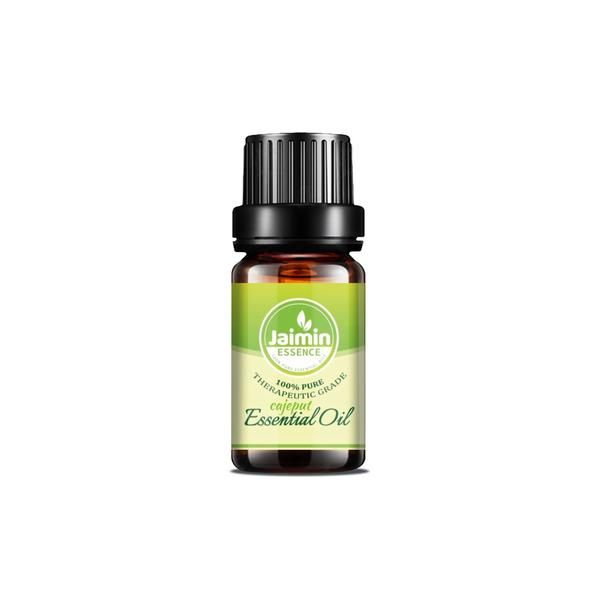 Cajeput Essential Oil - 100% Pure and Therapeutic packaged in the USA. Warm, penetrating, camphor-like aroma Revitalizing, relaxing & inspiring Comes in a glass amber bottle with a dropper top For external use only A relative of the celebrated tea tree, cajeput is native to parts of Australia