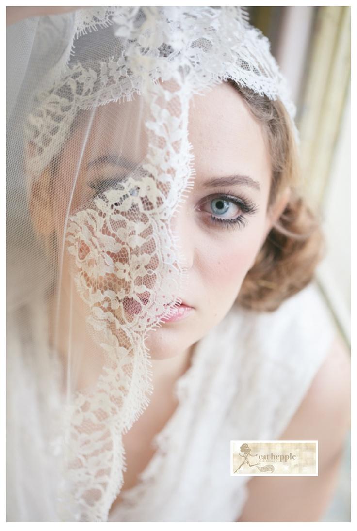 Juliet Cap Veil And Lace Gorgeous Cat Hepple Photography