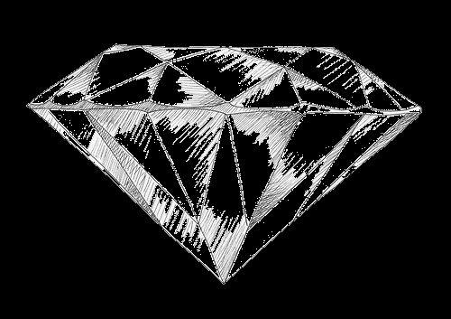 diamond drawing diamond art posters natacha geometry diamonds 3