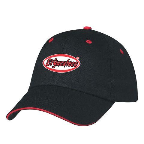 El Yucateco Lightweight Unstructured Cap - Black & Red – El Yucateco Gear Shop