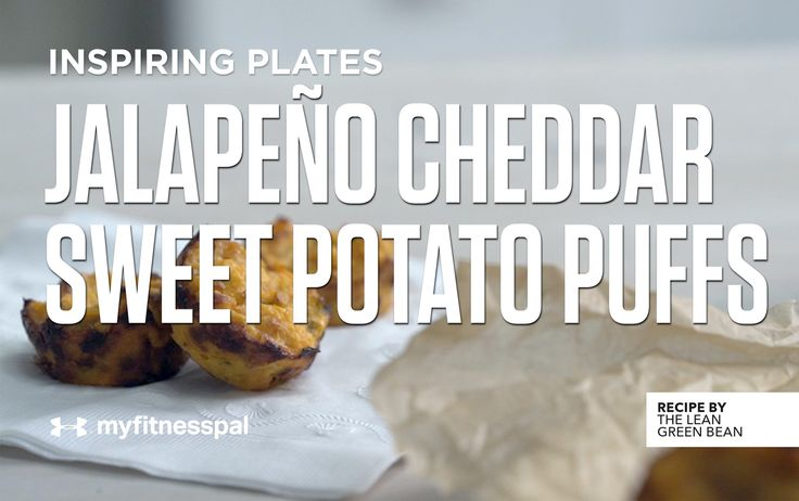 Jalapeño Cheddar Sweet Potato Puffs