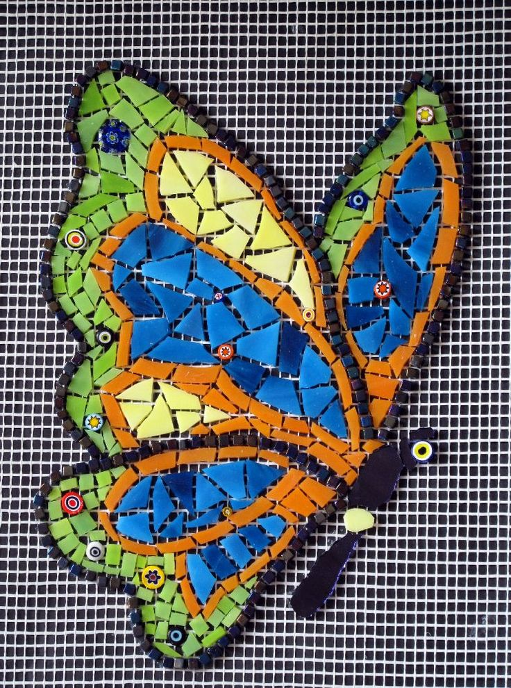 203 best mosaic butterflies images on pinterest