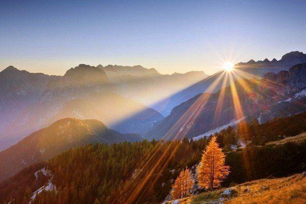 Удивительно, что может сделать один луч солнца с душой человека.