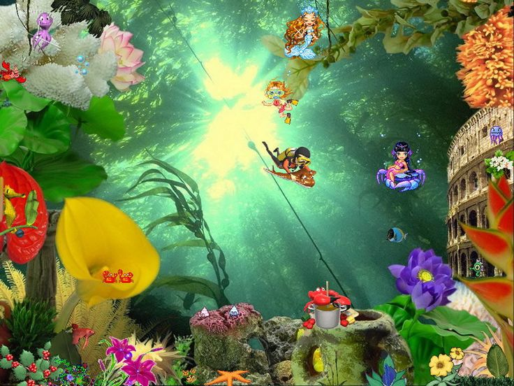 Free Desktop Wallpaper Screensaver | Free Aquarium Screensaver - Animated Aquaworld