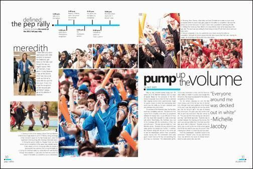 Pin by Cassidy Cummings on yearbook | Yearbook layouts ...  |Academic Spreads For Yearbook Ideas