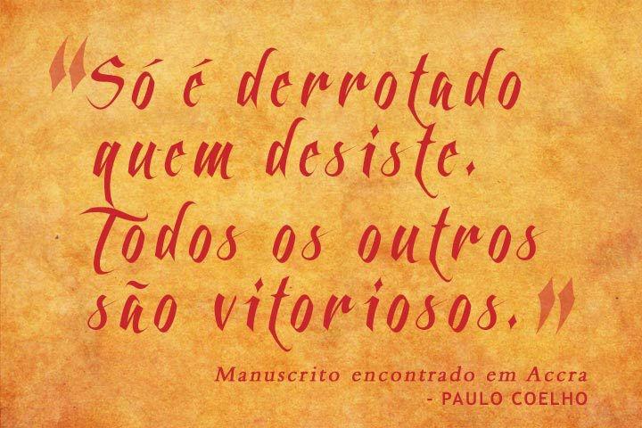 Frases De Paulo Coelho: Frases Em Português