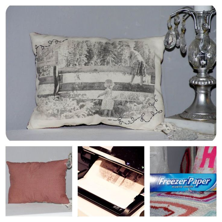 Did you know you can transfer photos to fabric using printer? I love this technique. It's simple to execute and the end results are really pretty. These vintage photo pillows were so easy to make and so personal.You can make some as gift at holiday season. If you are interested to make one, click below …