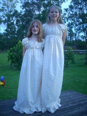 Seven Little Australians and Counting: Old Fashioned Nightgowns for my Girls