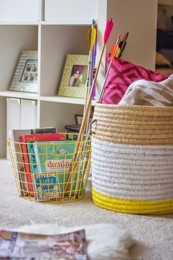 Könyveket, gyerekcuccokat, párnákat is pakolhatsz egy-egy fonott vagy műanyag…