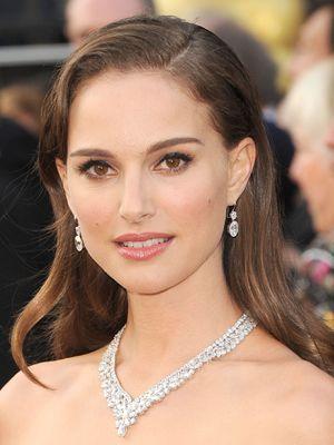 natalie portman oscars 2012 natural makeup
