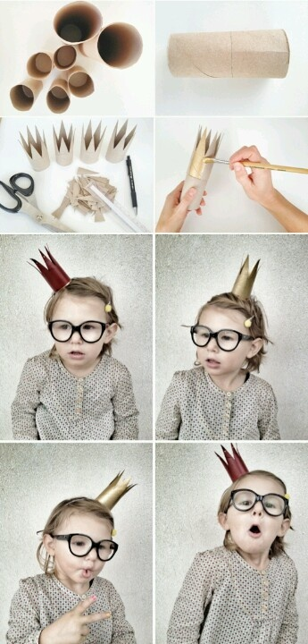 Toilet Paper Roll crowns