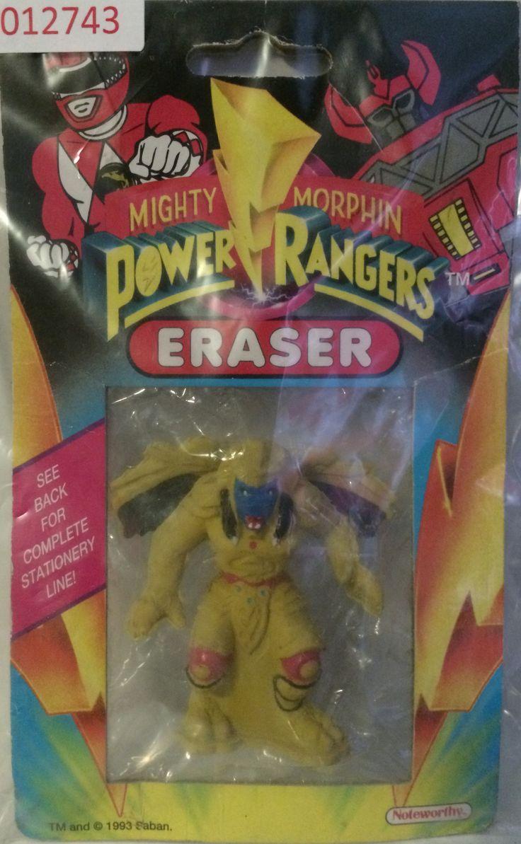 (GBS012743) - 1993 Mighty Morphin Power Rangers Eraser