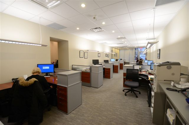 Inside our offices at 3442 Yonge Street, Toronto.