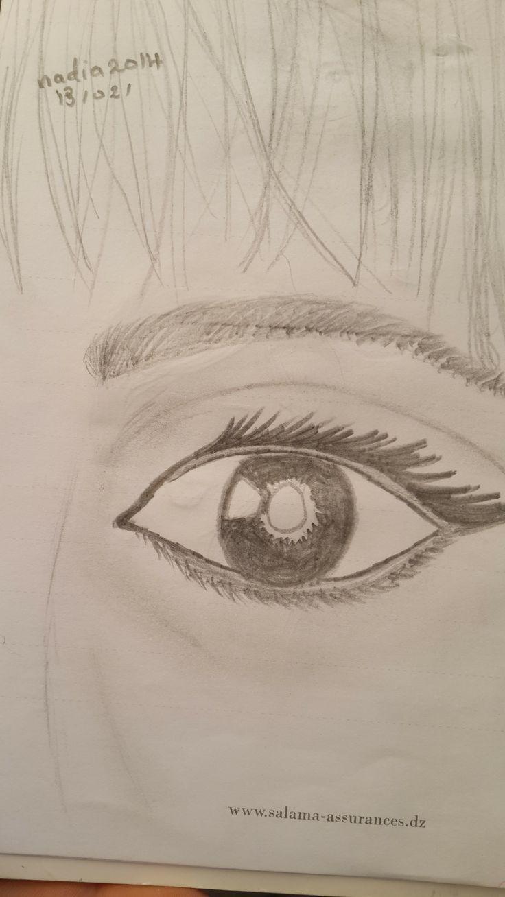 Of my drawings in pencil  13/02/2014 Nadia.D