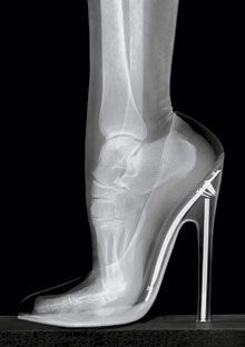 no wonder my feet rebel when I wear heels...