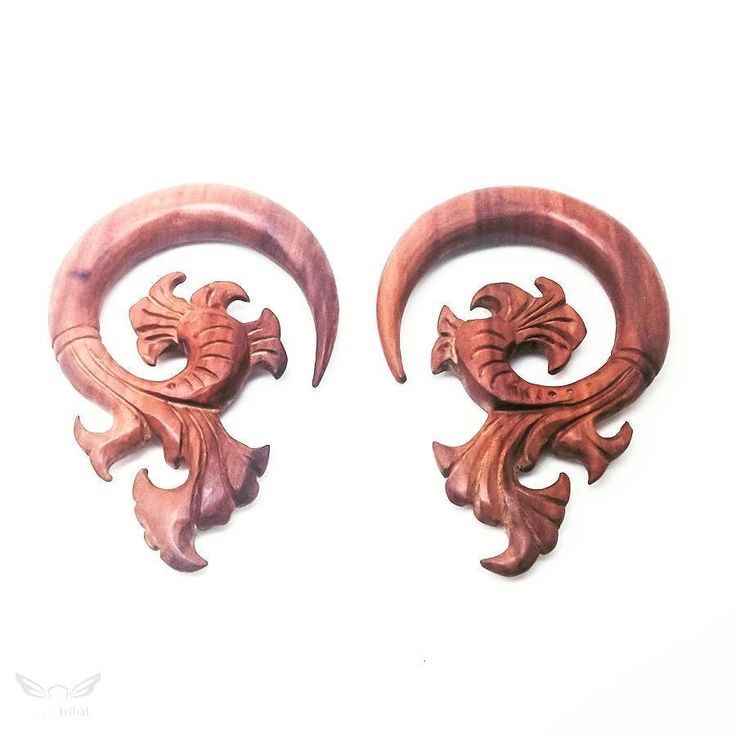"00 gauge size with 7.5cm height (3 inches) and 5.5cm width (2 1/8 inches). Bali ethnic carving ear expander for 3/8"" or 10mm ear stretching size. Requested by @gorgon_eyez yesterday and available now on our shop at www.ayutribal.com . . . #AYUtribal #ayujewelry #00 #00g #00gauges #woodgauges #eargauges #00gwood #woodenearrings #earstretching #10mmgauge #gauges #taper #piercings #earexpander #girlswithink #girlswithlocks #girlswithtattoos #inkedgirls #inkedwomen #dreads #dreadlocks #hippie…"