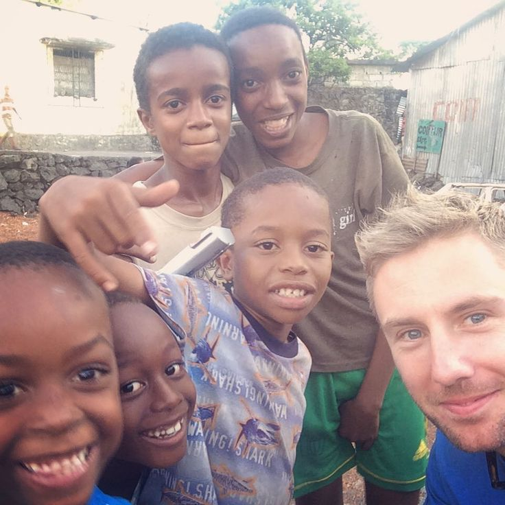 The kids in #Moroni, #Comoros taking me to school in street #football! #everycountryintheworld #comorosislands #Africa #lovetheworld