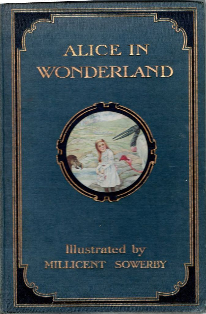 Alice In Wonderland Classic Book Cover ~ Best images about just alice on pinterest book